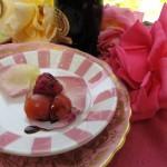 rose petal salad 132