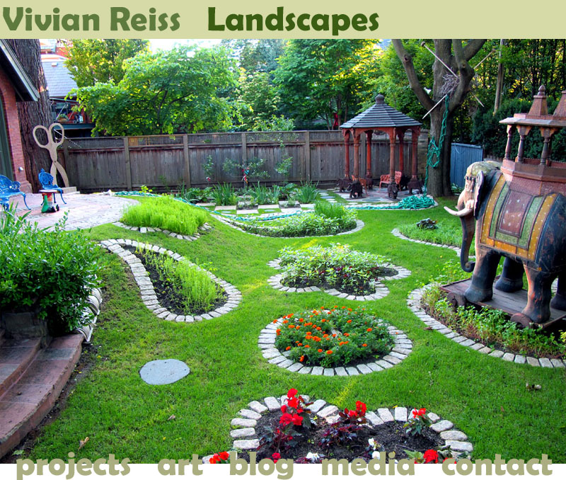 Vivian reiss landscape design site is launched vivian for Design my garden
