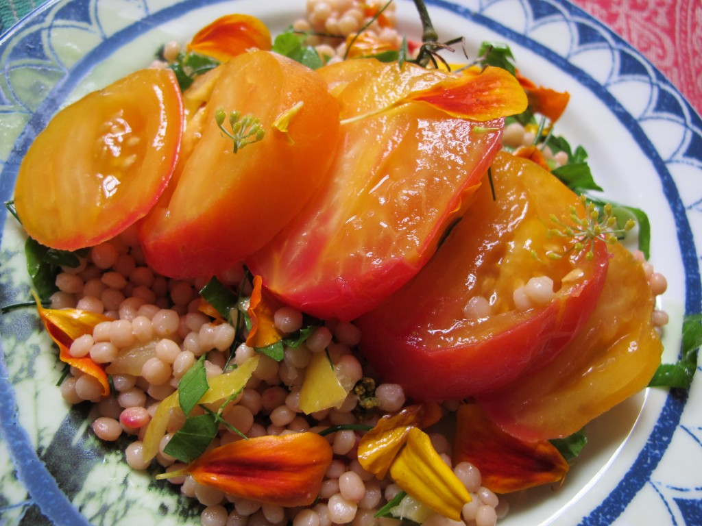 """Sweet Israeli"" Tomato and Couscous Salad"